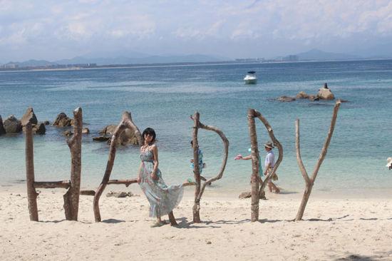 蜈支洲岛的快乐时光