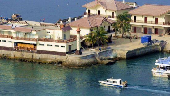 适合度假休闲的分界洲岛