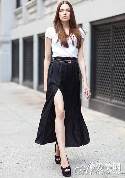 Style 9 >>> 高开叉显高装扮