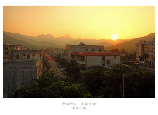 清晨的尖峰岭(摄影by呆呆)