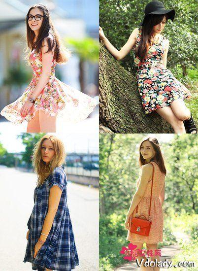 连衣裙夏季搭配 约会必备5款!