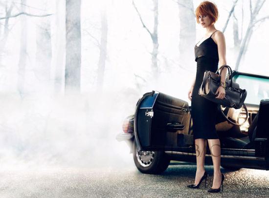 由妮可·基德曼 (Nicole Kidman) 演绎的吉米周 (Jimmy Choo) 2013秋冬广告大片正式曝光