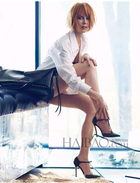 Nicole Kidman非常完美地演绎了品牌2013秋冬系列的精髓