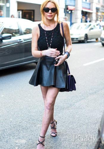 示范明星:林赛-罗韩(Lindsay Lohan)