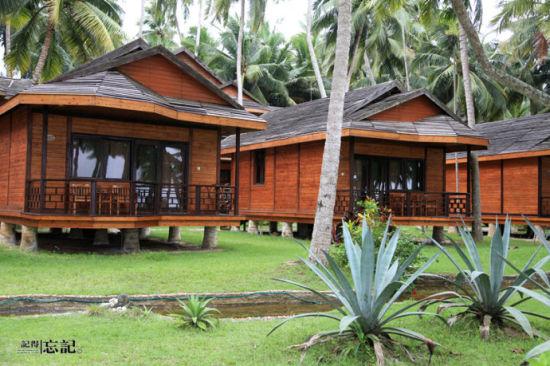 度假村里的小木屋