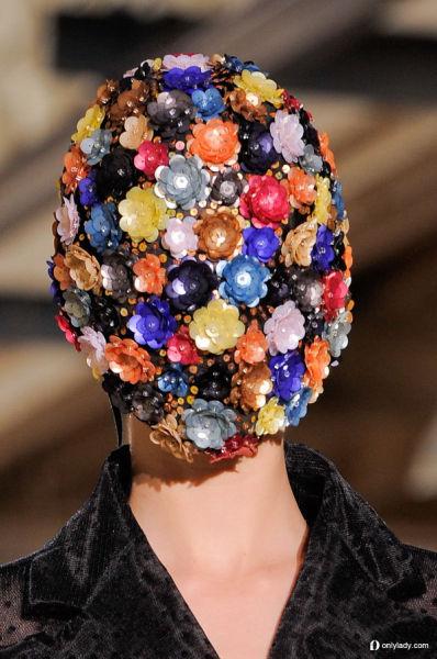 拼接宝石面罩