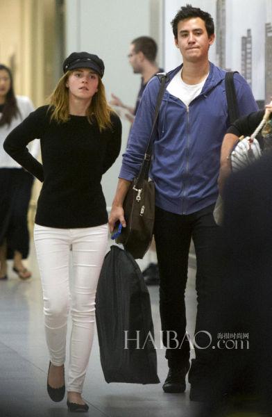 Emma Watson与男友Will Adamowicz