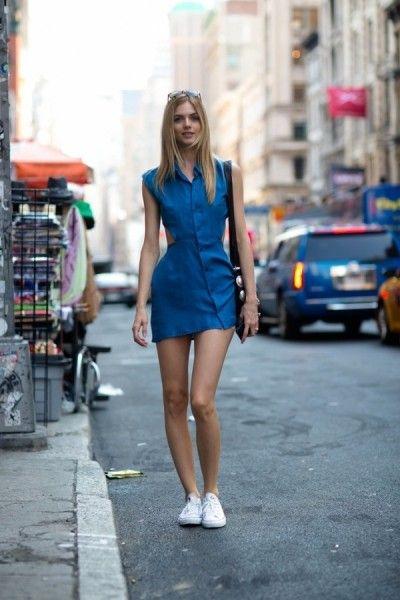 蓝色有没有让你在炎热的街道上眼前一亮?