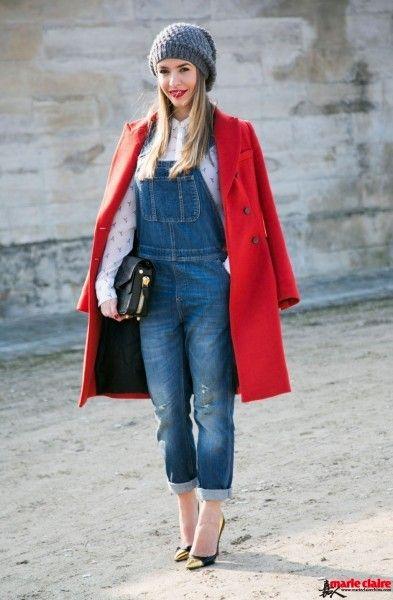 想要青春就穿背带裤 夸张搭配花样繁多又时髦