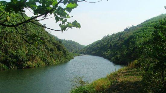 两岸生态优美的万泉河