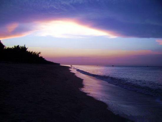东海岸的海滩