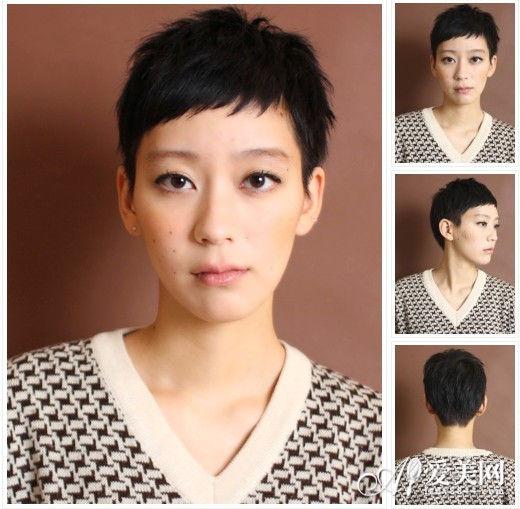 简单中性短发