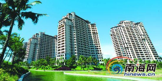 乐东日益发展为一座现代化的休闲度假城市。本报记者苏建强摄