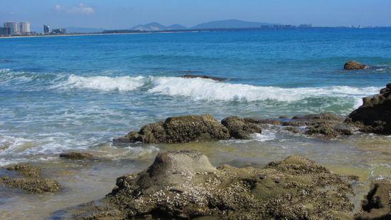 清水湾原始的海滩