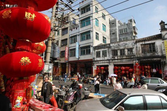 红红火火的魅力老街