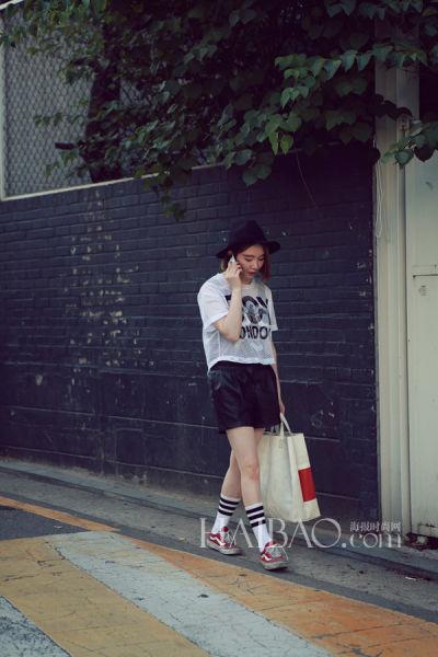 韩国型人街拍合辑