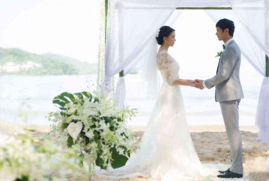 张梓琳泰国海岛秘密结婚