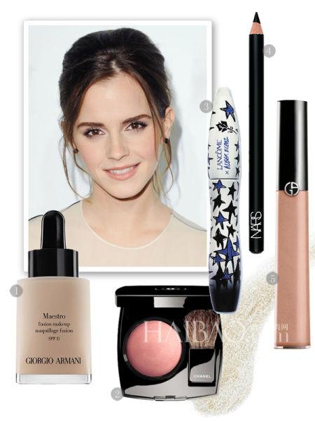 Copy艾玛·沃特森 (Emma Watson) 双面彩妆造型