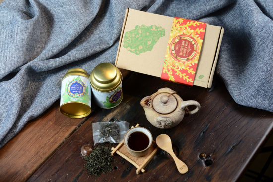 茶叶礼盒两盒装