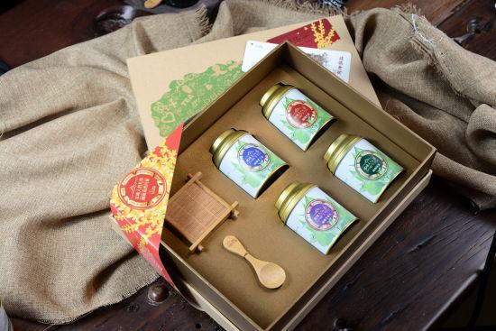 茶叶礼盒四盒装