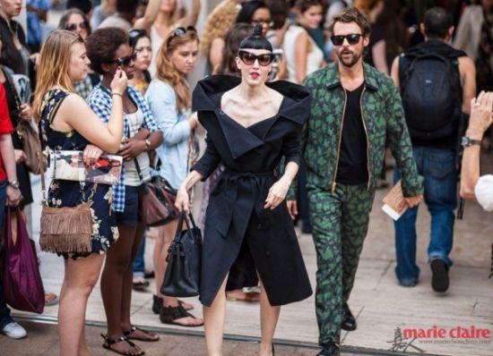 纽约时装周精彩看街拍 场外六个流行关键词