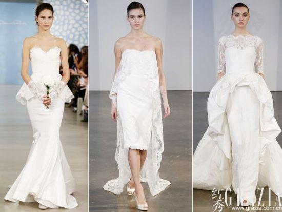 理性的颠覆和优雅的升华 2014春夏纽约婚纱周