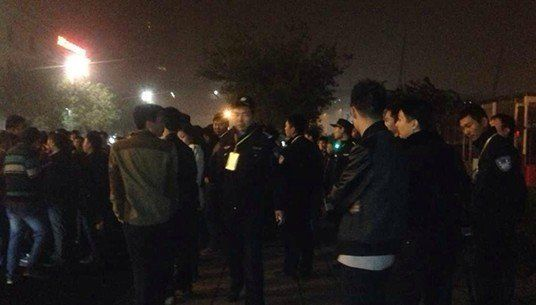 11月1日深夜,郑东新区夜总会皇家一号被查处