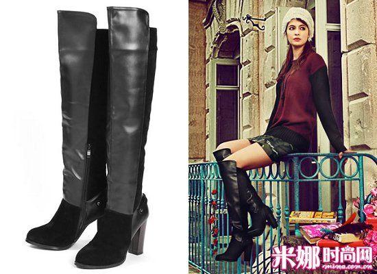 五款长靴初冬实用巧穿搭 风格演绎时尚秋冬范