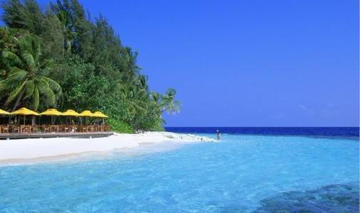 湛蓝的海水