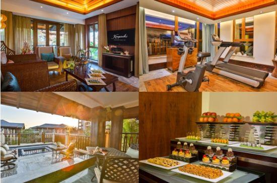 三亚私人别墅欧式厨房装修风格大图片