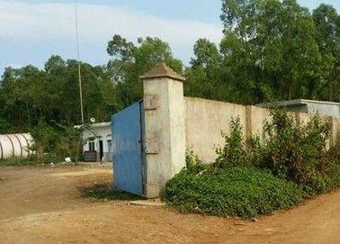 废弃厂房暗藏毒窝(南海网记者 高鹏 摄)