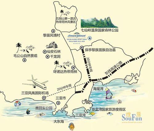 五指山高速路规划图