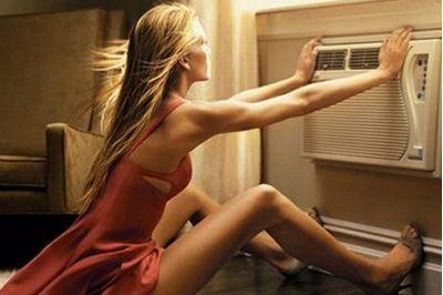 爱用空调 易发胖