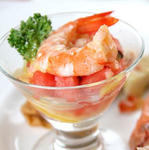鲜虾扒豆苗
