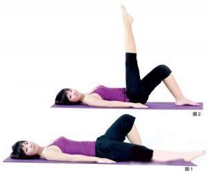 让大腿紧致 腿部拉伸锻炼