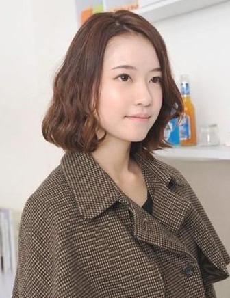 蛋卷头短发发型2