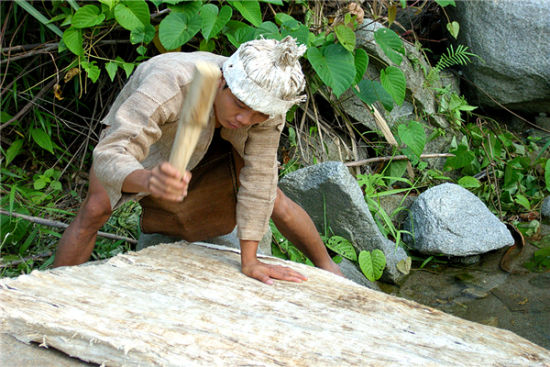 黎族树皮布制作技艺