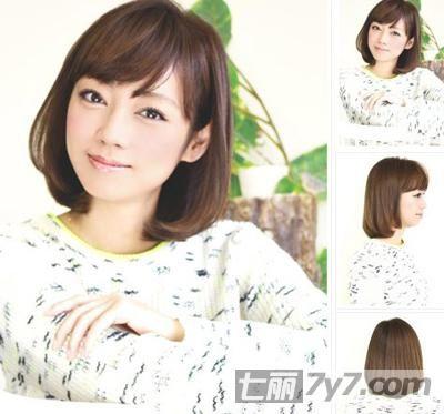 2014夏季新款的荷叶头发型 甜美灵动至IN美发