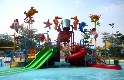 大型儿童亲水乐园