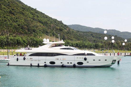 ?9abyc???(`9.'y?Z?Y_华润石梅湾国际游艇会水域开放 允许境外游艇自由出入