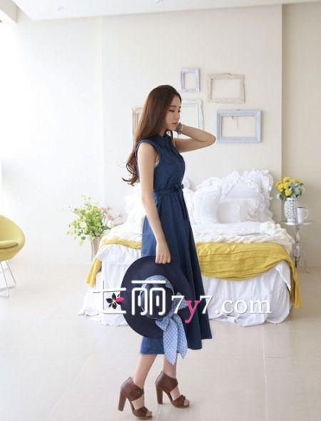 初夏长衬衫裙搭配Style 3