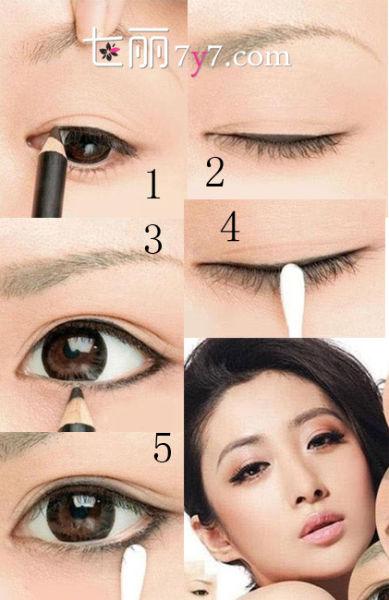 眼线如何画出大眼睛
