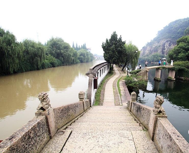 浙江绍兴阴阳河