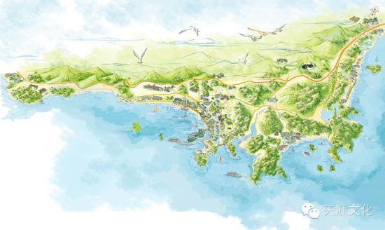 旅游手绘地图》