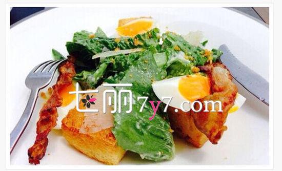 郑秀文瘦身秘籍3:自制美食早餐