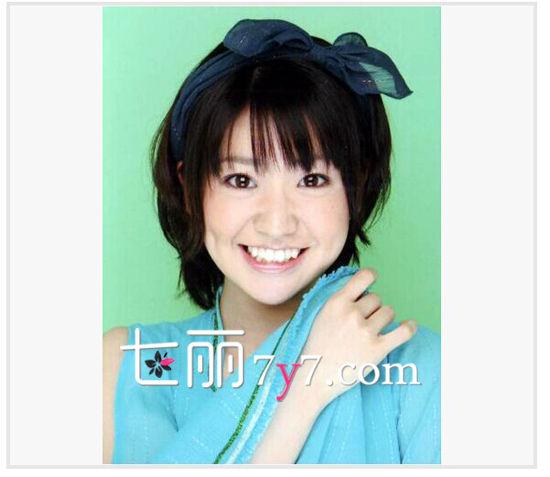 大岛优子发型LOOK 1