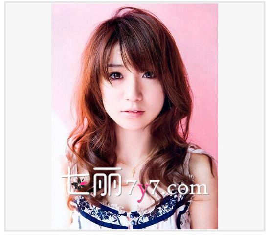 大岛优子发型LOOK 2