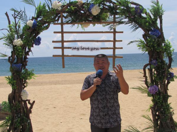海南省旅游协会秘书长王健生讲话