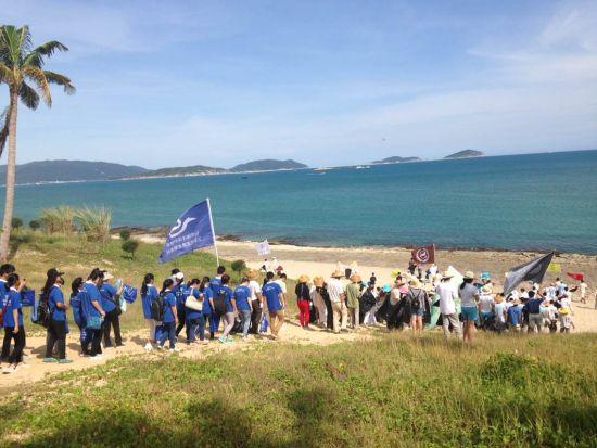 喜达屋海南_国际沙滩清洁日