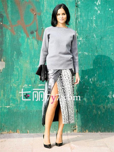 套头毛衣针织衫外套时髦搭LOOK 2
